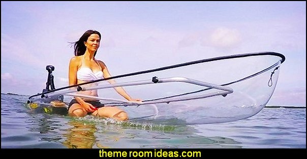 See Through Canoe
