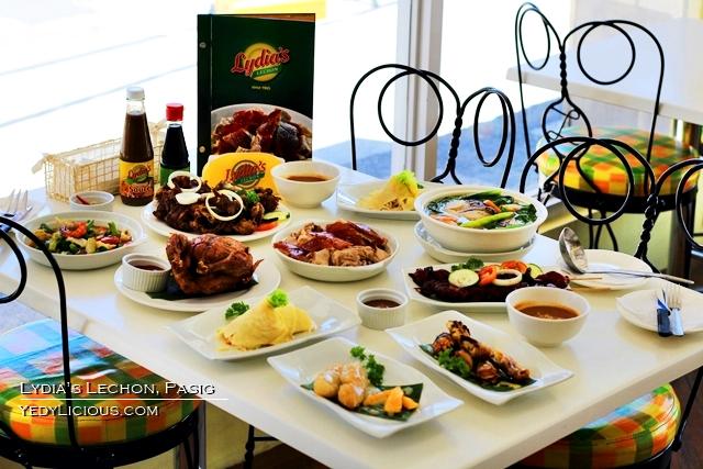 Lydia's Lechon Restaurant Pasig Branch, Blog Review Address Ccontact no. Mmenu Price Website Facebook Instagram Twitter YedyLicious manila Food Blog