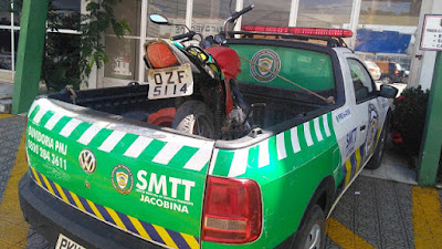 smtt-jacobina-moto-placa-adulterada-operacao-transito