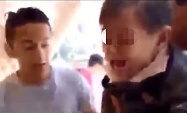 Así rescataron a dos niños de entre los escombros del Colegio Enrique Rebsamen.