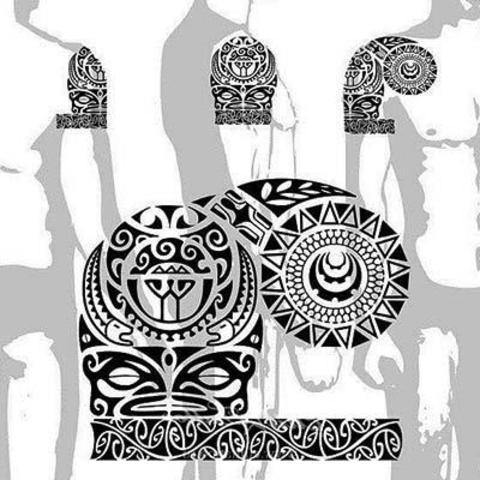 Bocetos De Tatuajes Maories - Dibujos-maoris