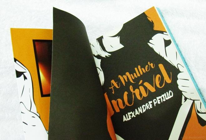 """""""A Mulher Incrível"""" de Alexandre Petillo"""