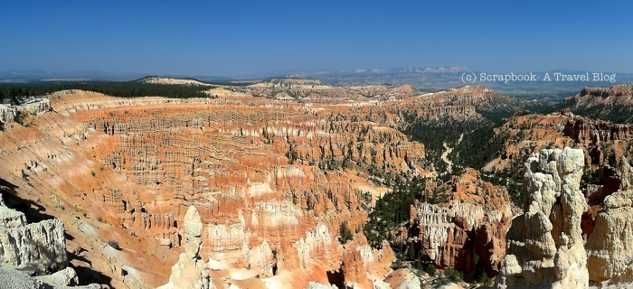 Utah Bryce Canyon National Park Inspiration Point Panorama