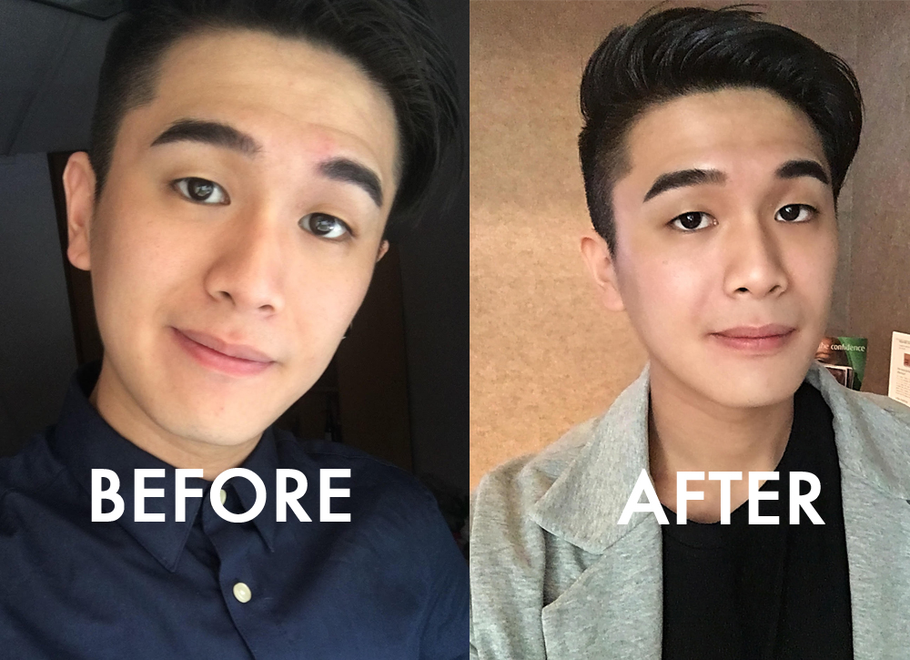 A fuller radiant face in less than 30 minutes! - Gerald Png