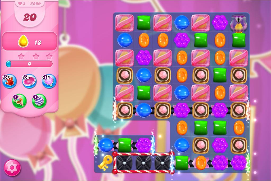 Candy Crush Saga level 5999