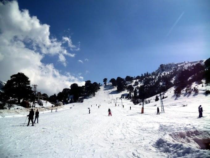 Τρίκαλα Κορινθίας, Αθλητικό Χιονοδρομικό Κέντρο Ζήρειας