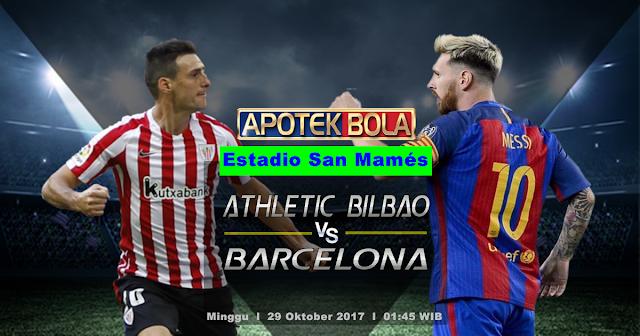 Athletic Bilbao vs Barcelona 29 Oktober 2017
