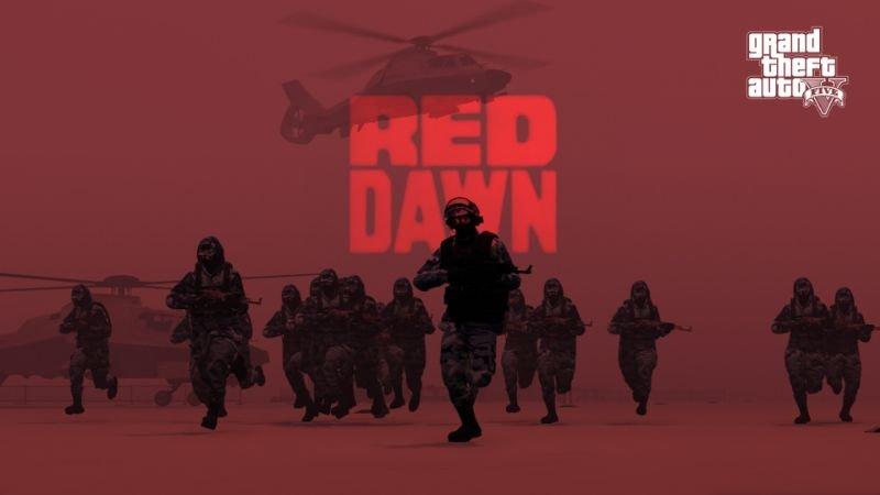 Red Dawn (WarMod) GTA5 - GamesMods17