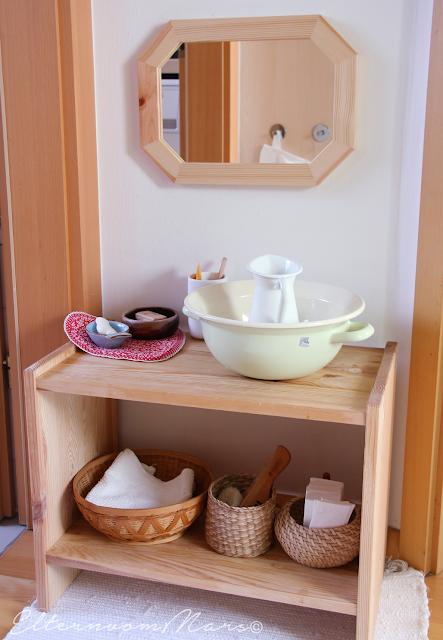 Waschtisch Für Kinder.Der Montessori Waschtisch Einige Ideen Und Gedanken Dazu