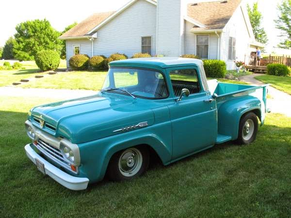 Vw Bus For Sale Craigslist >> Custom 1960 Ford F100 Stepside | Auto Restorationice