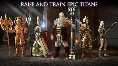 Dawn of Titans MOD APK DATA terbaru android