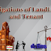 Obligations of LandLord and Tenant