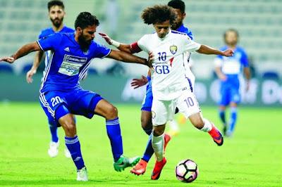 موعد مشاهدة مباراة العين والنصر السبت 21-4-2018 ضمن دوري الخليج العربي الإماراتي والقنوات الناقلة