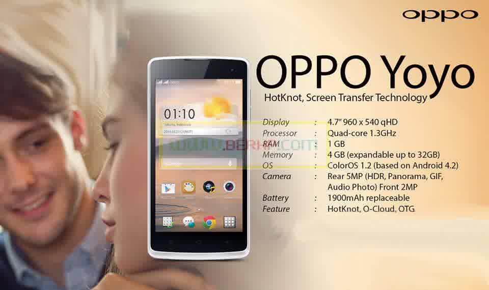 Harga HP Oppo Yoyo Terbaru