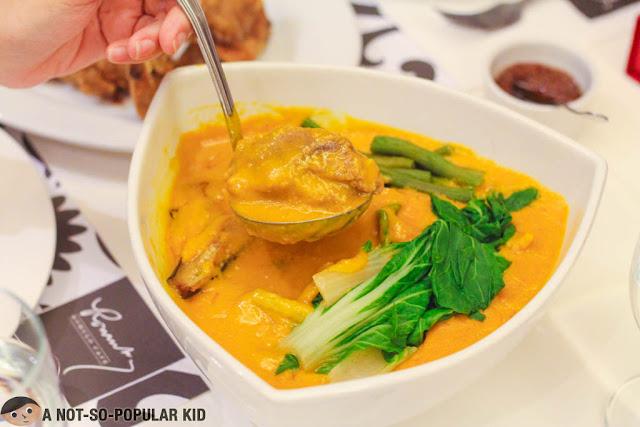 Tito Greg's Kare-Kare of Romulo Cafe