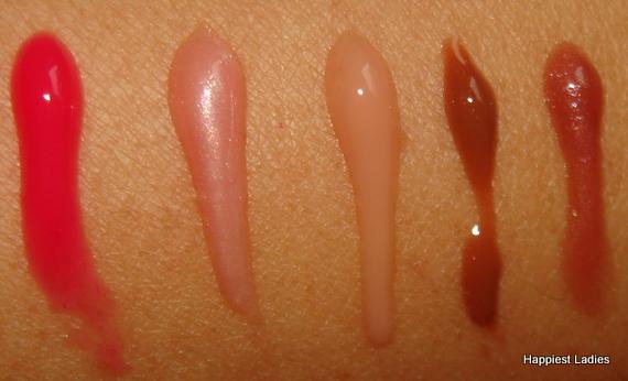wearable sheer lipgloss MUA