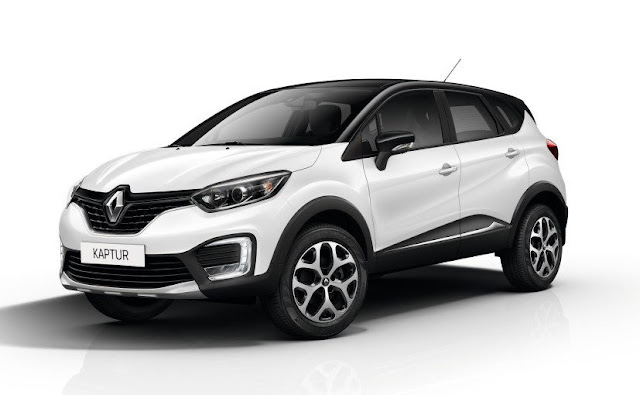 New 2017 Renault Capture Crossover white pics