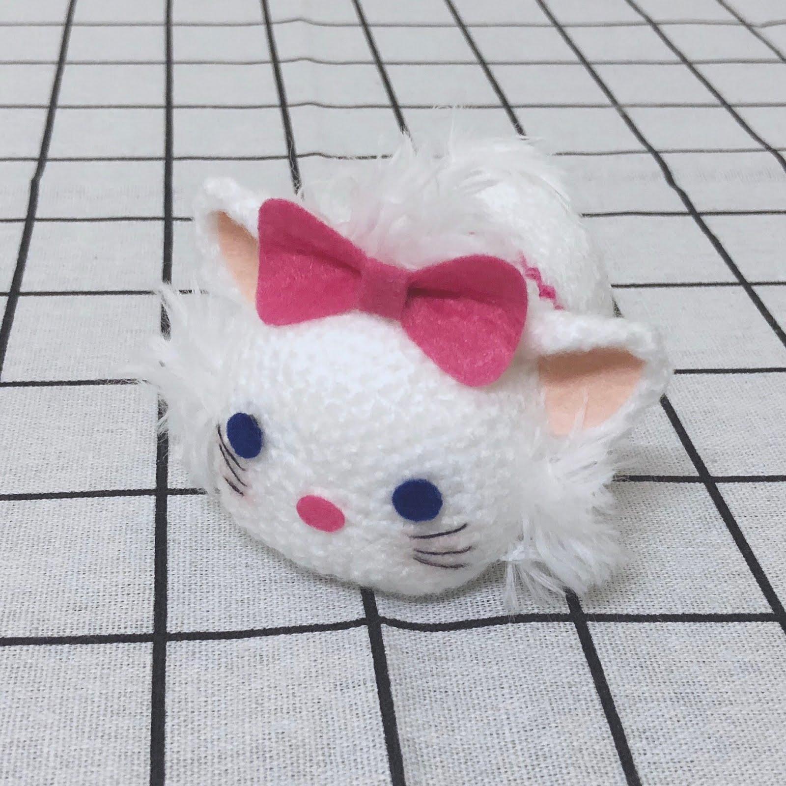 【教學】Hachette Tsum Tsum鉤織小玩偶-瑪莉 Marie