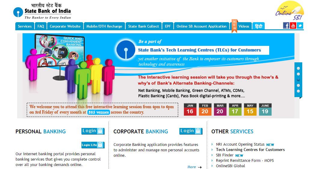 sbi internet banking
