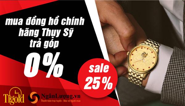 trả góp đồng hồ 0% tại Tigold