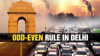 Odd Even Rule in Delhi