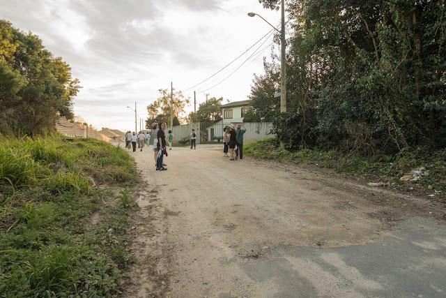 A Rua Saldanha Marinho (mais para o final)
