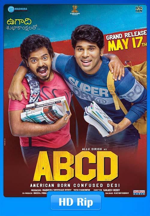 ABCD – American Born Confused Desi 2019 Telugu 720p HDRip x264 | 480p 300MB | 100MB HEVC