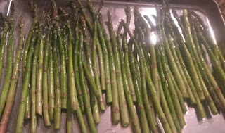 Roasted asparagus with thyme, roasted asparagus with basil, how to cook asparagus, how can you tell if your asparagus has gone bad, sauteed garlic asparagus, basic boiled asparagus, perfect side dish