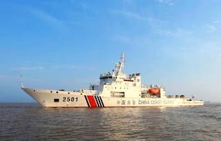 Patrulla en las islas Diaoyu