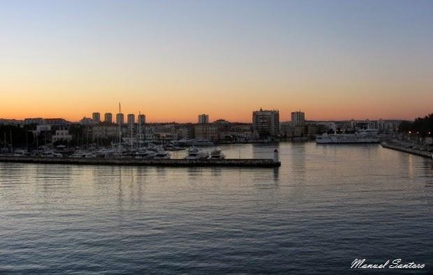 Zadar all'alba