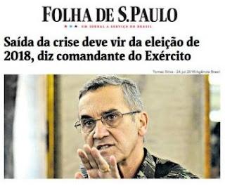 GenEx Villas Boas - Saída da Crise deve vir da eleição de 2018