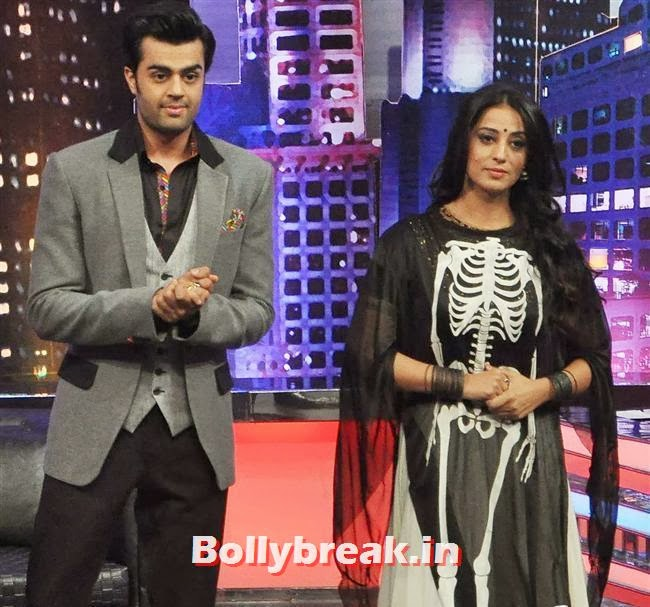 Manish Paul and Mahi Gill, Mahi Gill Promotes Gang of Ghosts on 'Mad in India'