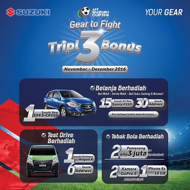 Promo #Tripl3Bonus