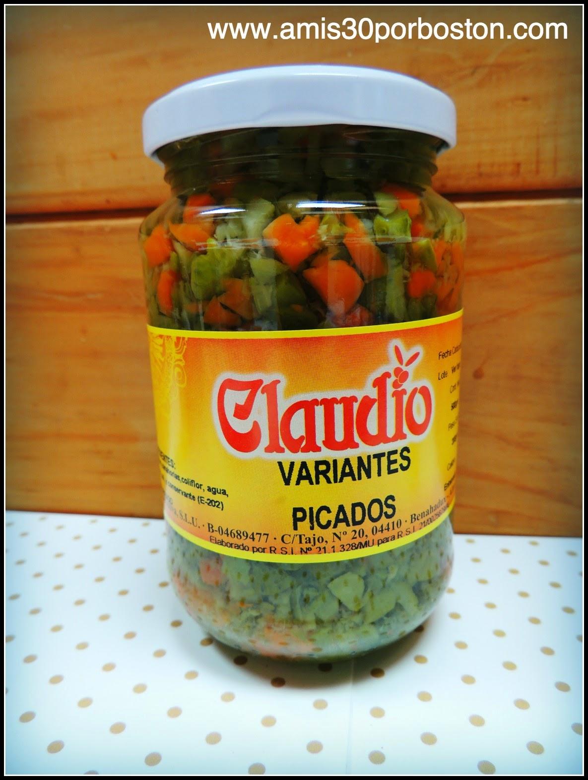 Los Productos Españoles en mis Maletas a Boston: Encurtidos