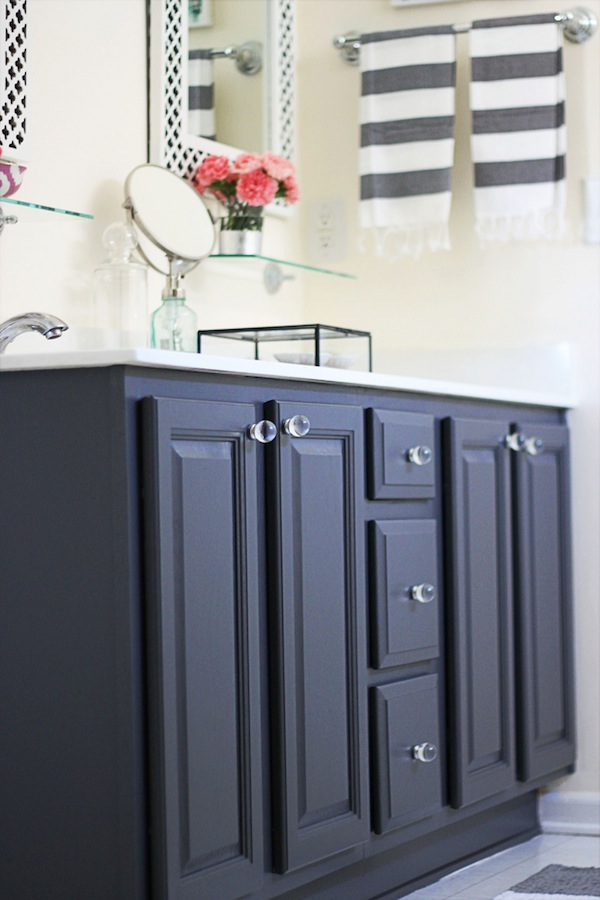 Paint dated oak cabinets
