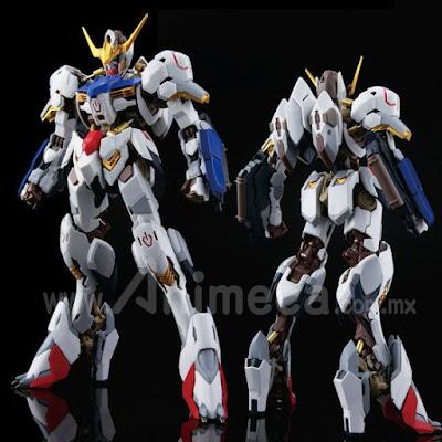 Gundam Barbatos 6th Form Hi-Resolution Model 1/100 Model Kit Edición Limitada Mobile Suit Gundam Iron-Blooded Orphans
