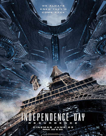 Poster Of Independence Day Resurgence 2016 English 450MB BRRip 720p ESubs HEVC Free Download Watch Online downloadhub.in