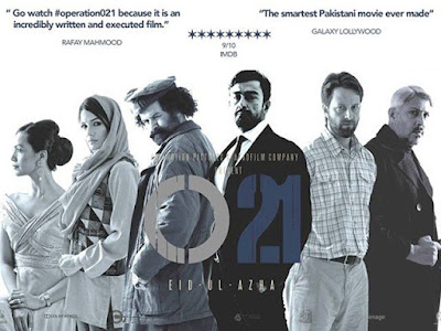 O21 (Operation 21) 2014 Pakistani Movie WebRip 720p [550MB]