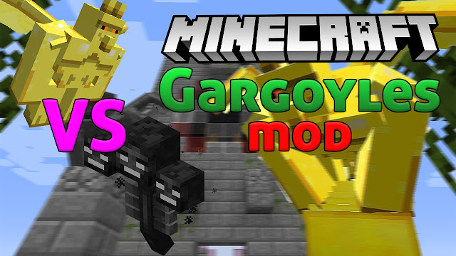 gargoyles mod 1.12.2 minecraft