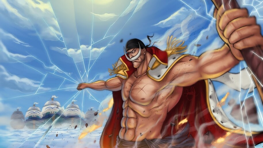 Whitebeard, Edward Newgate, One Piece, 4K, #6.80