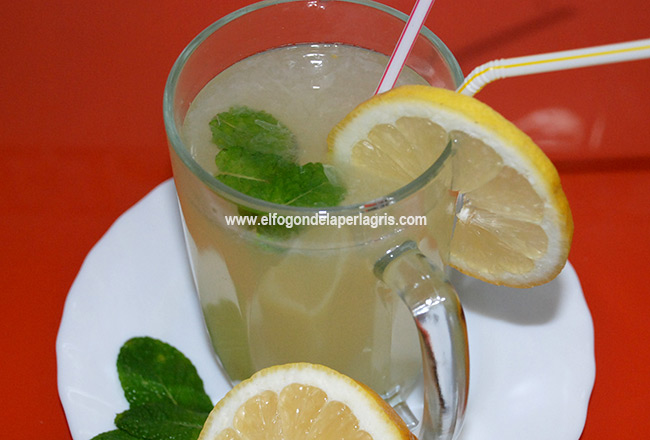 Limonada en Thermomix