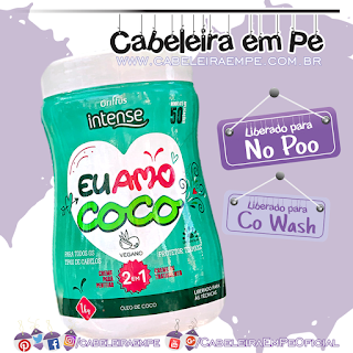 Multifuncional Eu Amo Coco - Griffus Intense (No Poo e Co wash)