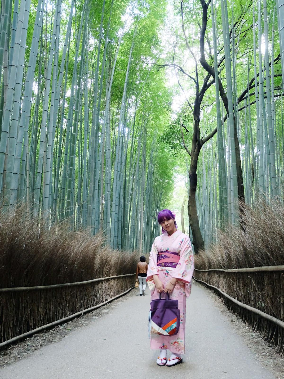 Kimono in Arashiyama Kyoto | www.bigdreamerblog.com