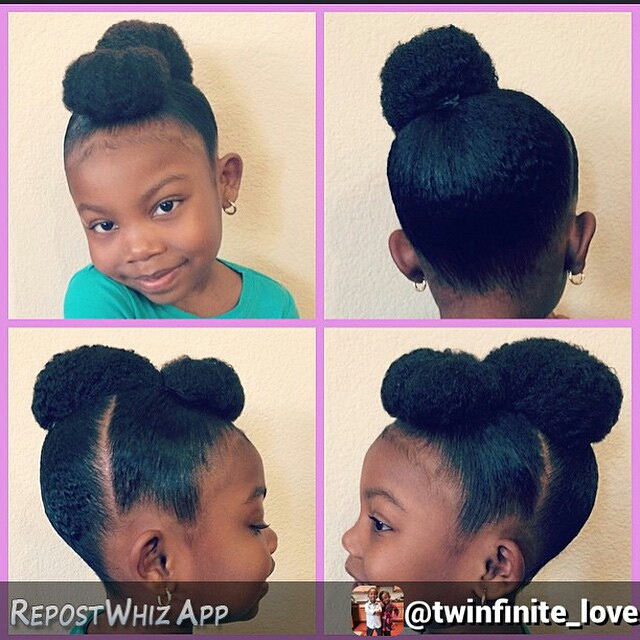 20 Natural Hair Styles For Children Nappilynigeriangirl