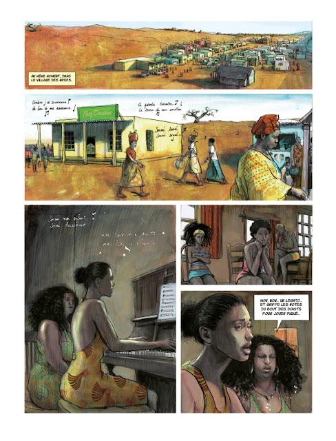 Terre Gâtée tome 1 Page 14 aux éditions Rue de Sèvres