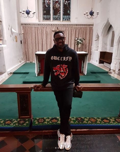 See The Gucci Hoodie COZA Pastor Wore To Cambridge Which