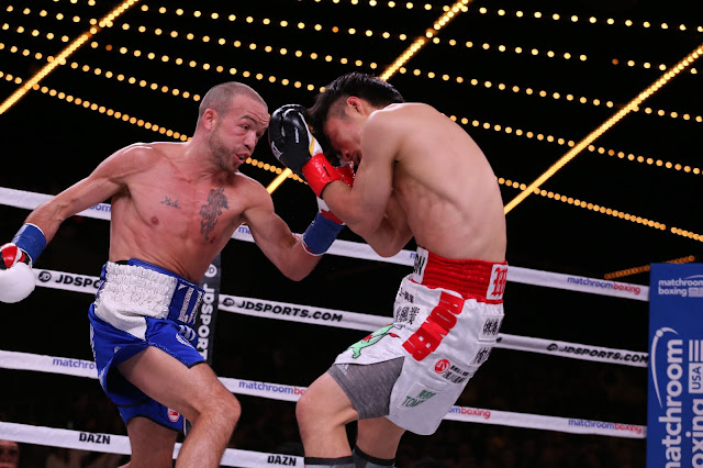 TJ Doheny  Stops. Ryohei Takahashi In 11th round To Retain IBF junior featherweight title
