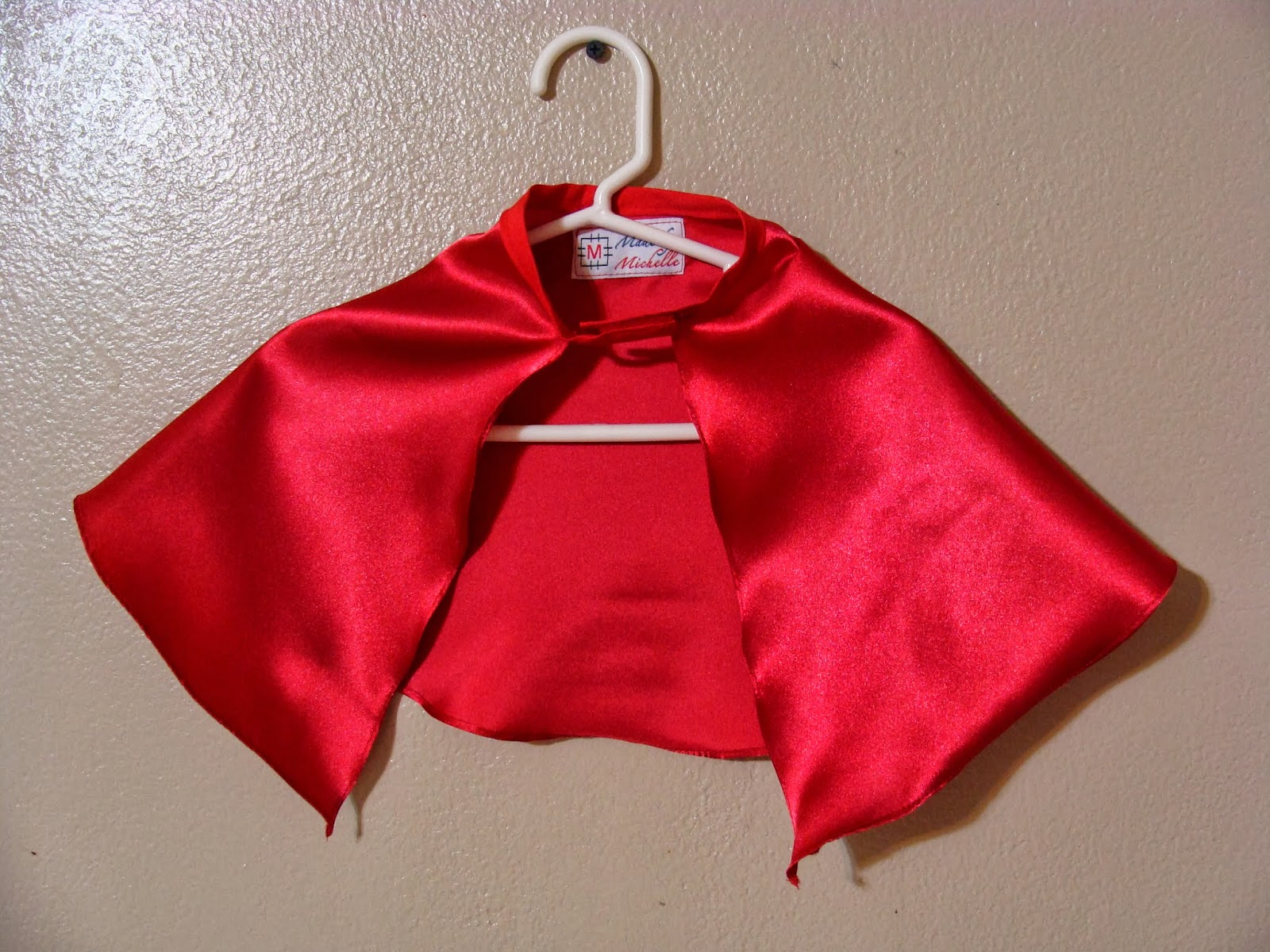 """""""Made By Michelle"""" Store: Etsy Sale: Red Infant Superhero Cape"""