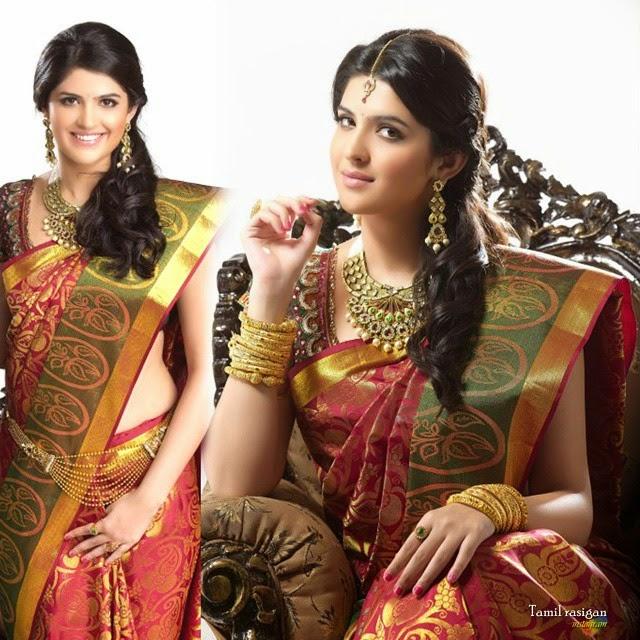 deeksha seth in an ad photoshoot.her upcoming movie is with simbus vettai mannan, Deeksha Seth Latest Photo Shoot Pics