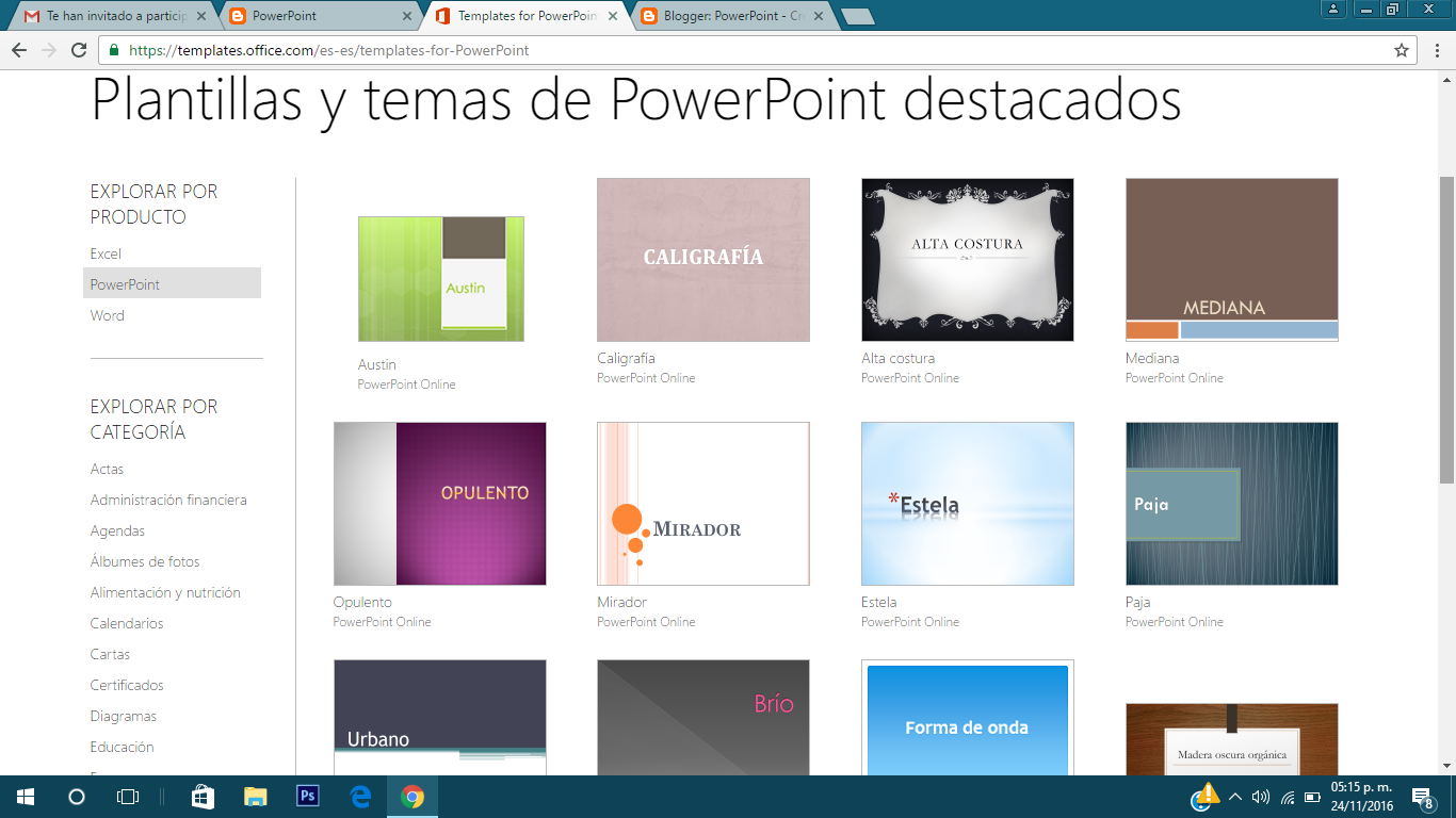 descargar plantillas para power point